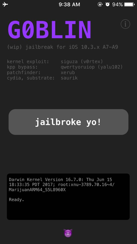 IOS 10 3 x jailbreak is out! new year gift