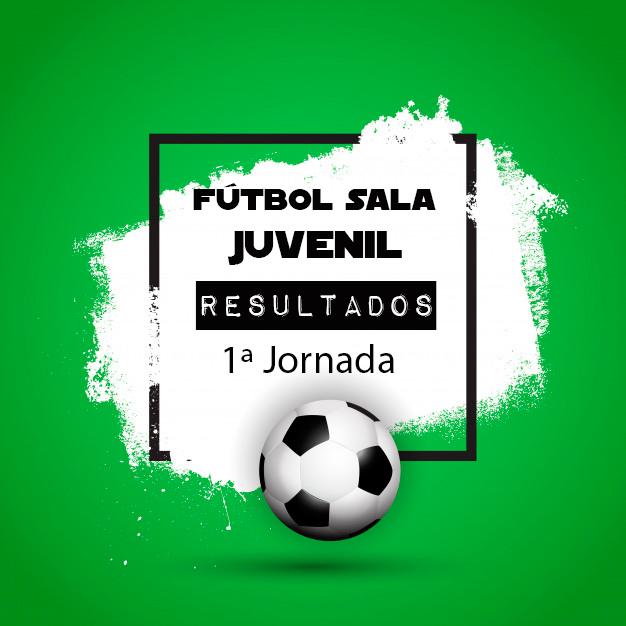 FÚTBOL SALA JUVENIL: Disponible Clasificación de la 1º Jornada Temporada 2019-20
