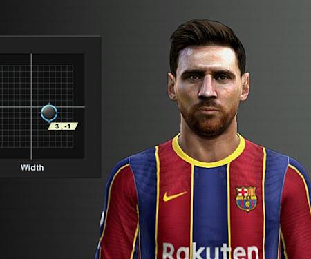PES 2013 Face Lionel Messi