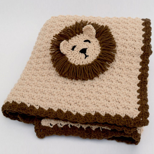 Lion Blanket - Free Pattern