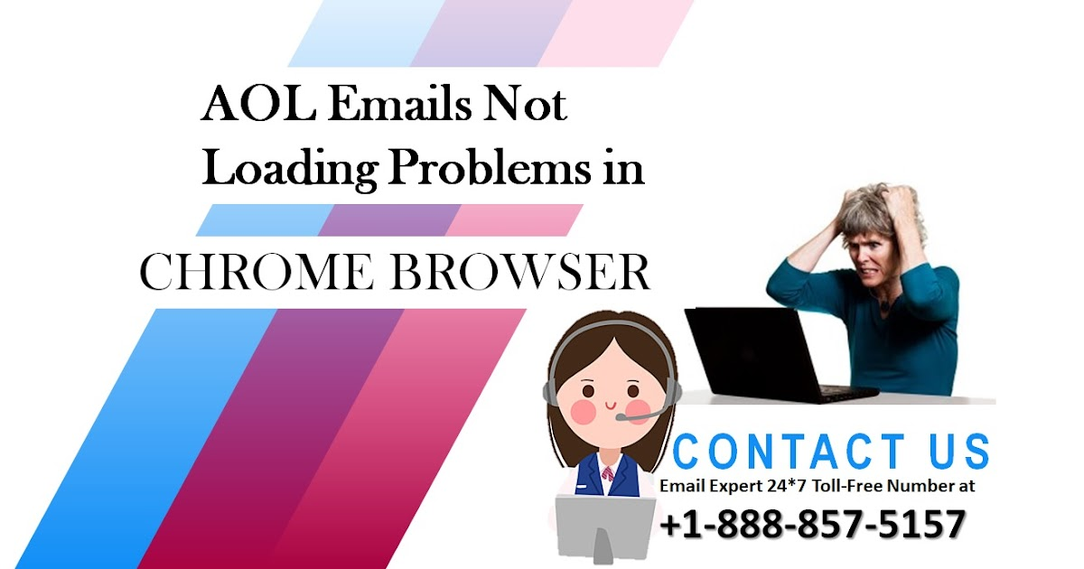 AOL Emails Not Loading Problems (+1-888-857-5157) in Chrome Browser