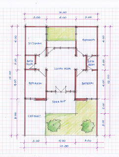 layout of home design 10b