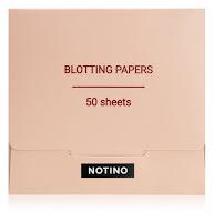 matující papírky notino