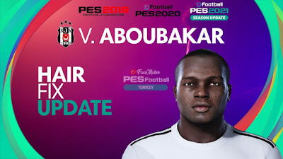 PES 2021 Faces Vincent Aboubakar by PES Football Turkey