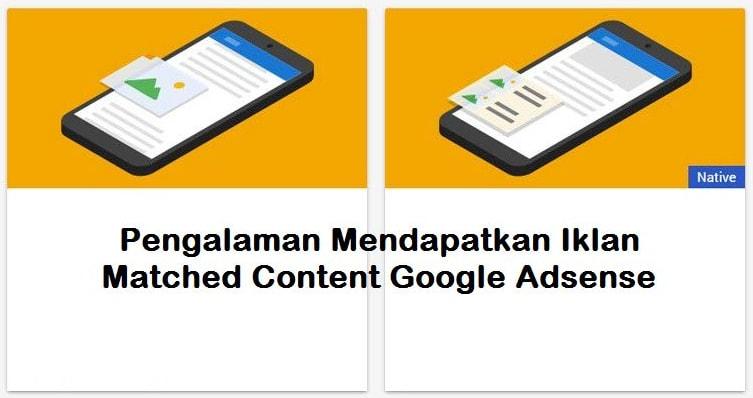 Fakta Menarik Mendapatkan Matched Content Adsense Dengan Cepat
