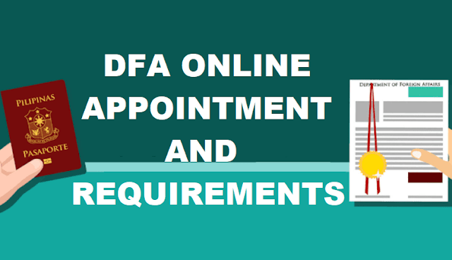 DFA Online Appointment and Requirements
