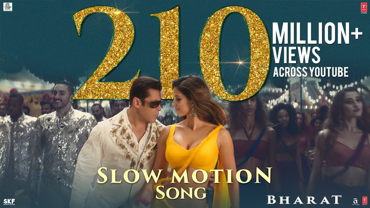 Slow Motion Lyrics Bharat | Salman Khan X Disha Patani | Nakash Aziz x Shreya Ghoshal