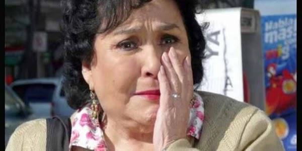 Reconocido actor puso en su lugar a Carmen Salinas