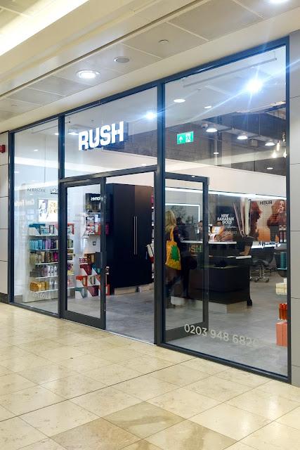 hair cut review at Rush salon Lewisham London.