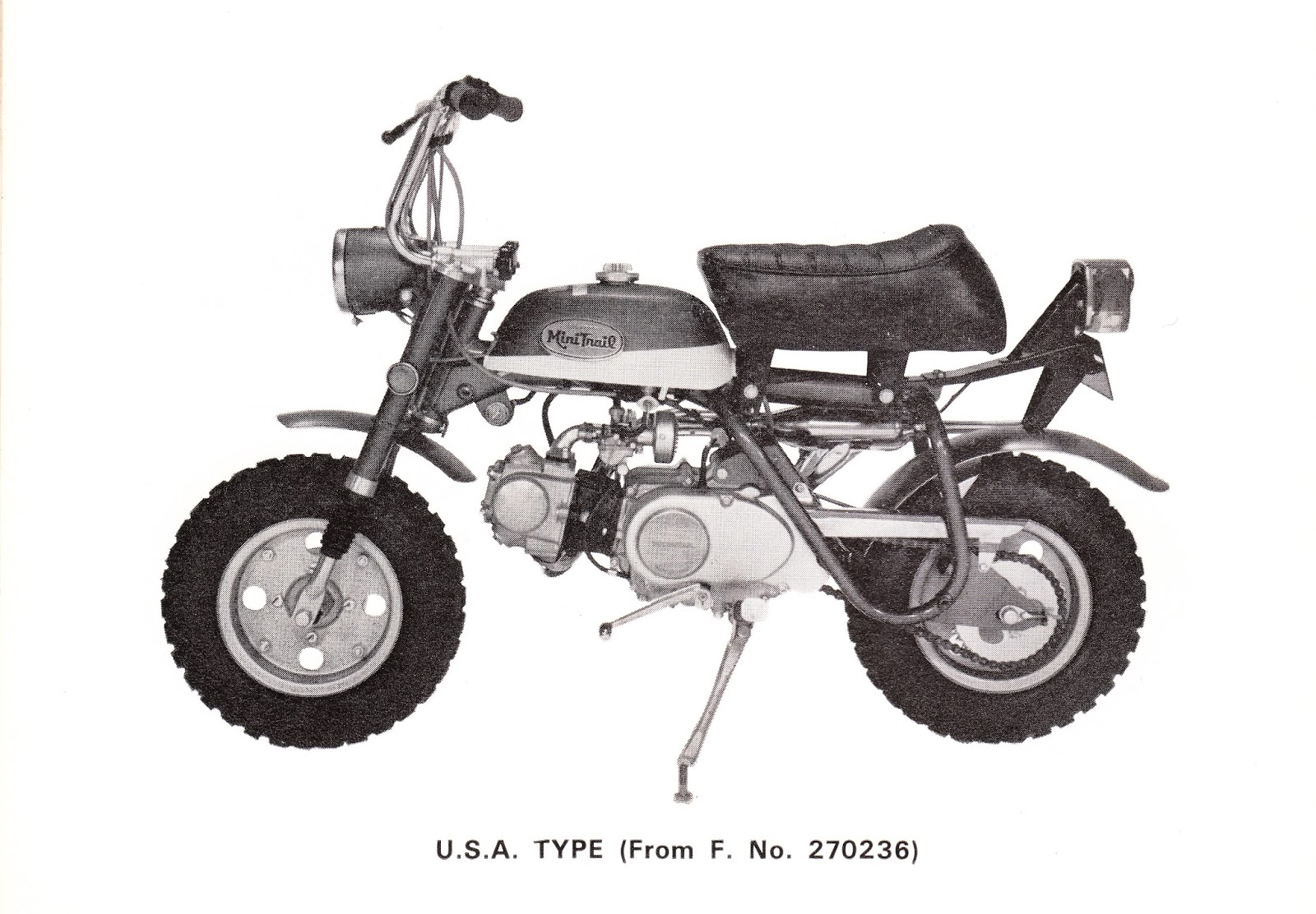 1970 Honda Trail 70 Parts 1969 Z50 Diagram Wiring Electricity Basics 101 A Mini Restoration Project Rh Z50a Blogspot Com Ct70