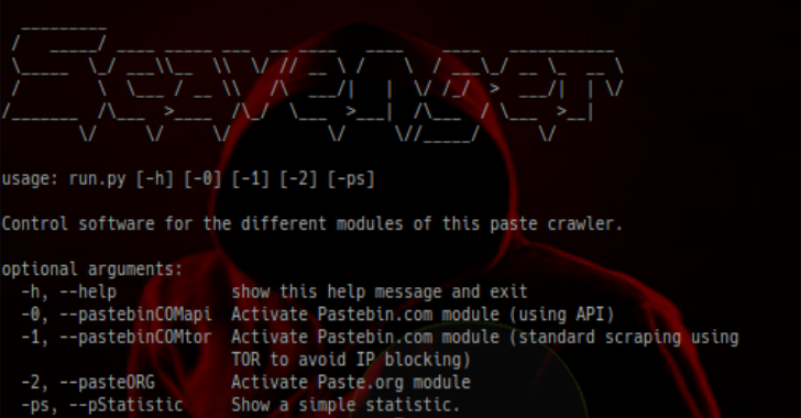 Scavenger : Crawler (Bot) Searching For Credential Leaks On Different Paste Sites