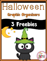 Free Halloween Graphic Organizers