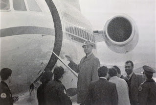 Erik Priebke si imbarca per l'Italia nel 1995