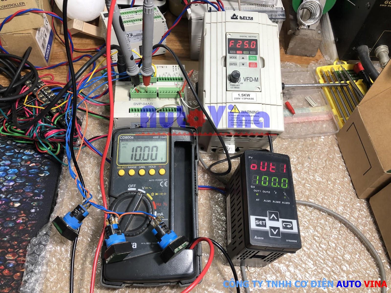 Hướng dẫn lập trình PLC Delta ghép nối module DVP06XA-S DVP06XA-S2