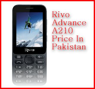 Rivo Advance A210 Price In Pakistan