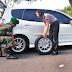 Babinsa Bantu anggota Polwan Polres Karanganyar wujud kebersamaan TNI-Polri