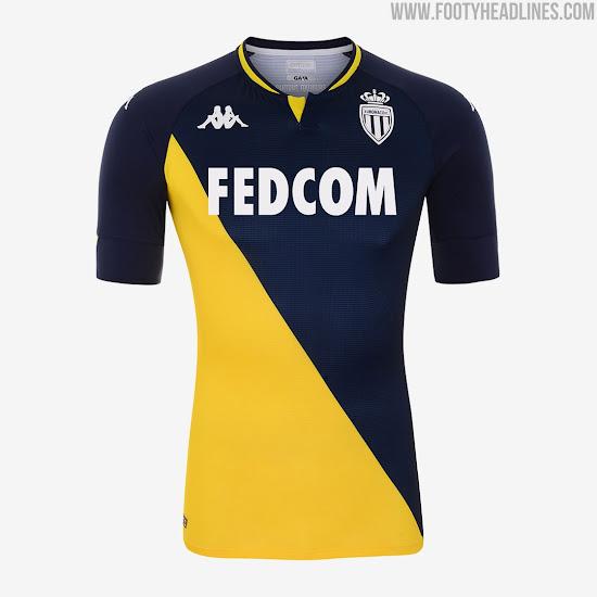 As Monaco 20 21 Away Kit Released Footy Headlines