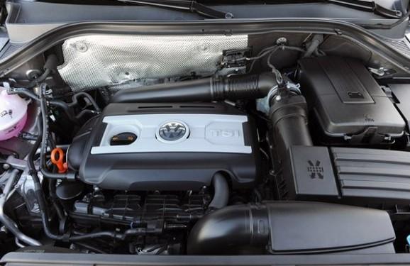 2017 VW Tiguan Engine