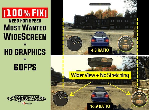 Need For Speed Most Wanted WideScreen Fix