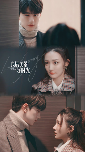 First Look at Lin Yi Wanting to be Xu Lu's Boyfriend in Love Scenery