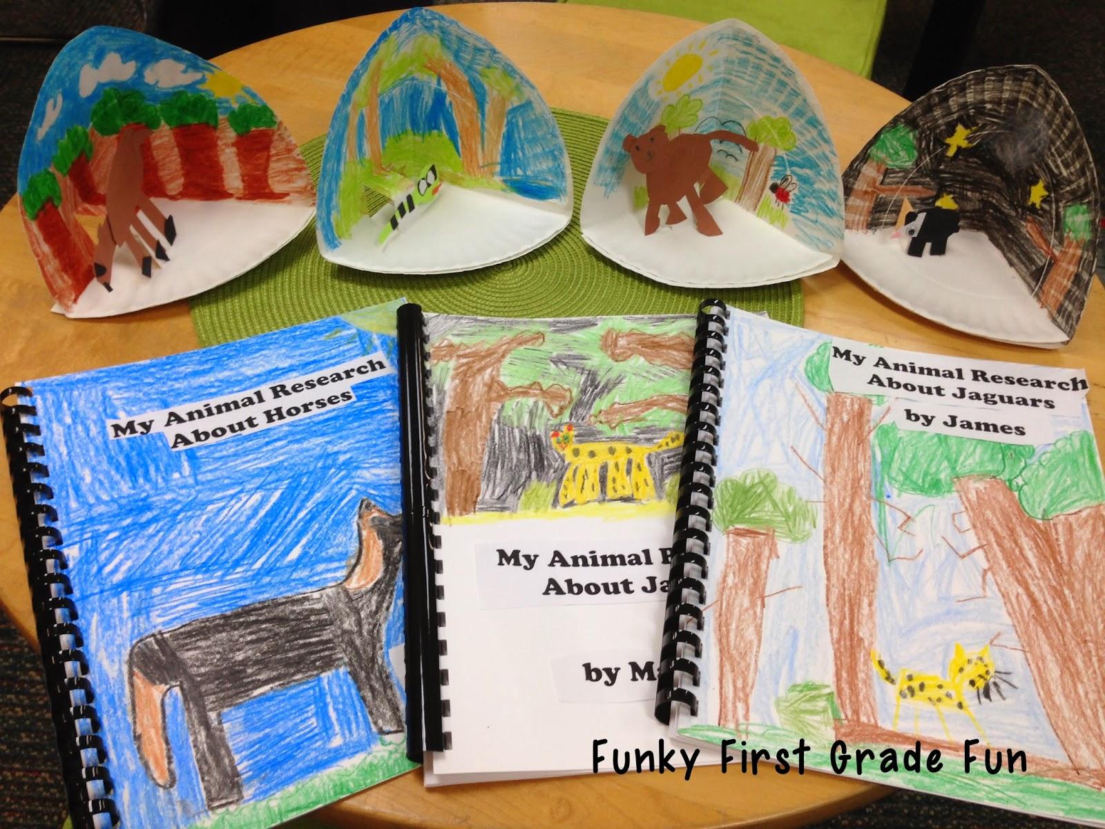 Funky First Grade Fun Zoohoo