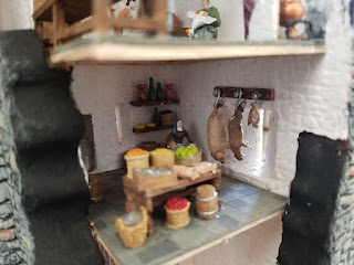 Bunratty-Castle-Diorama-Pantry