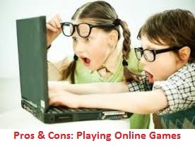Advantages And Disadvantages Of Playing Games Online
