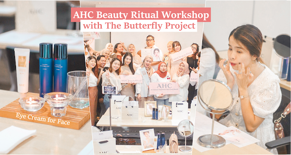 AHC Beauty Ritual Workshop with The Butterfly Project