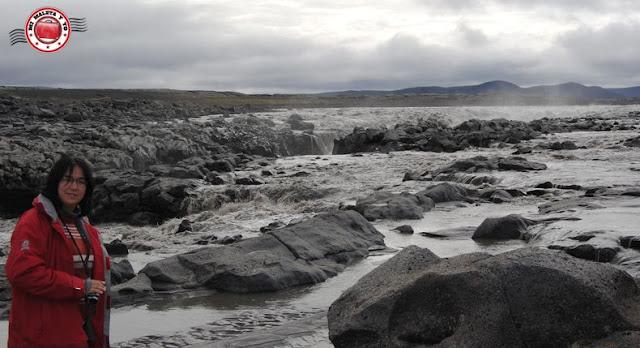 Árkross Kreppulindir, camino a Askja, Islandia