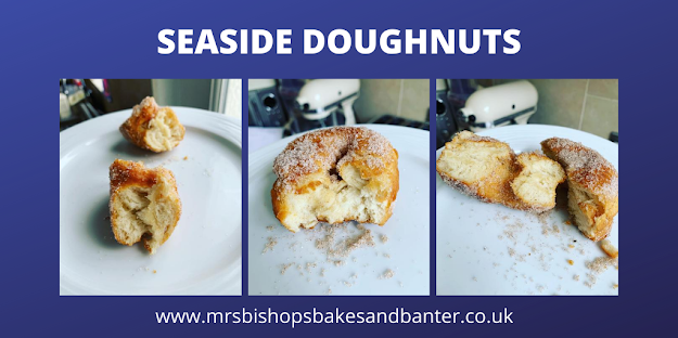 seaside doughnuts recipe (no yeast)