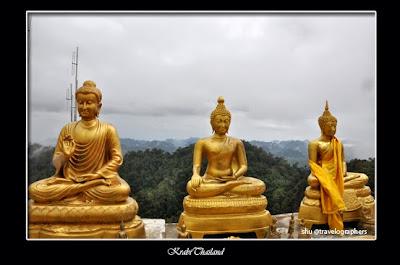 krabi, tiger caves, wat tham sua, karst, temple, thailand, phuket, asean, asia, south east asia, backpacking, travel, buddha