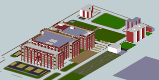 View of All India Institute of Unani Medicine Hospital, Ghaziabad by Archkala