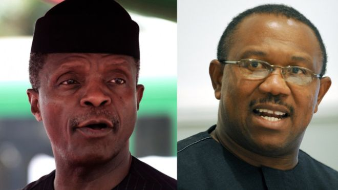 See The Vice Presidents Expected At Tonight's Nigeria Elections Debate.