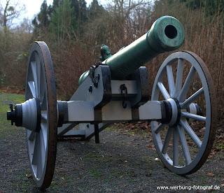 Schloss Bückebur Kanone