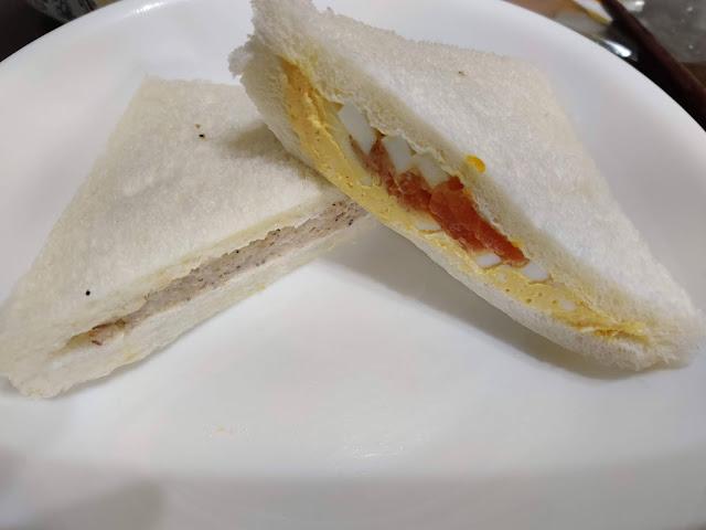 7-ELEVEN 鮪魚蛋雙拼三明治