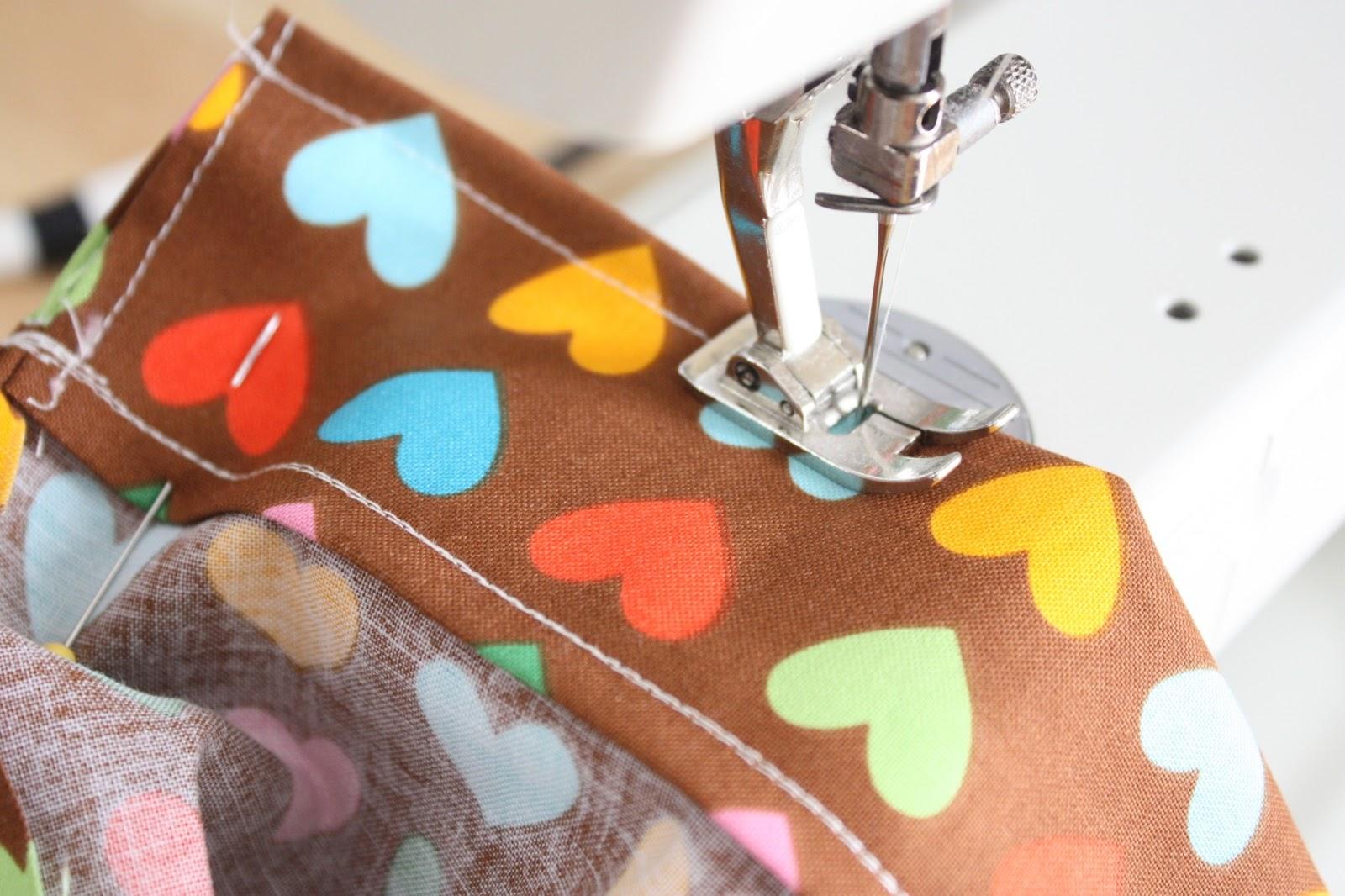 Fat Quarter Drawstring bag tutorial