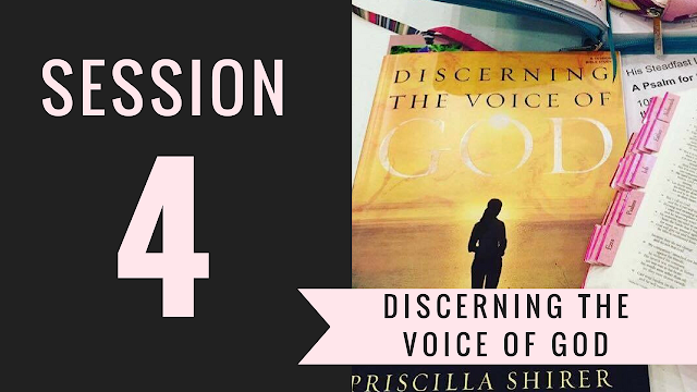 Session 4 - Discerning the Voice of God Bible Study