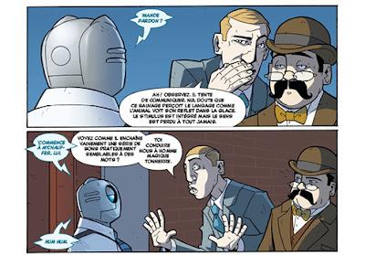 Atomic Robo - tome 3 - Rencontre avec Charles Fort et Howard Phillips Lovecraft