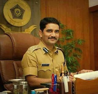 विश्वास नागरे पाटील यांची माहिती : IPS Vishwas Nangare Patil Biography in Marathi
