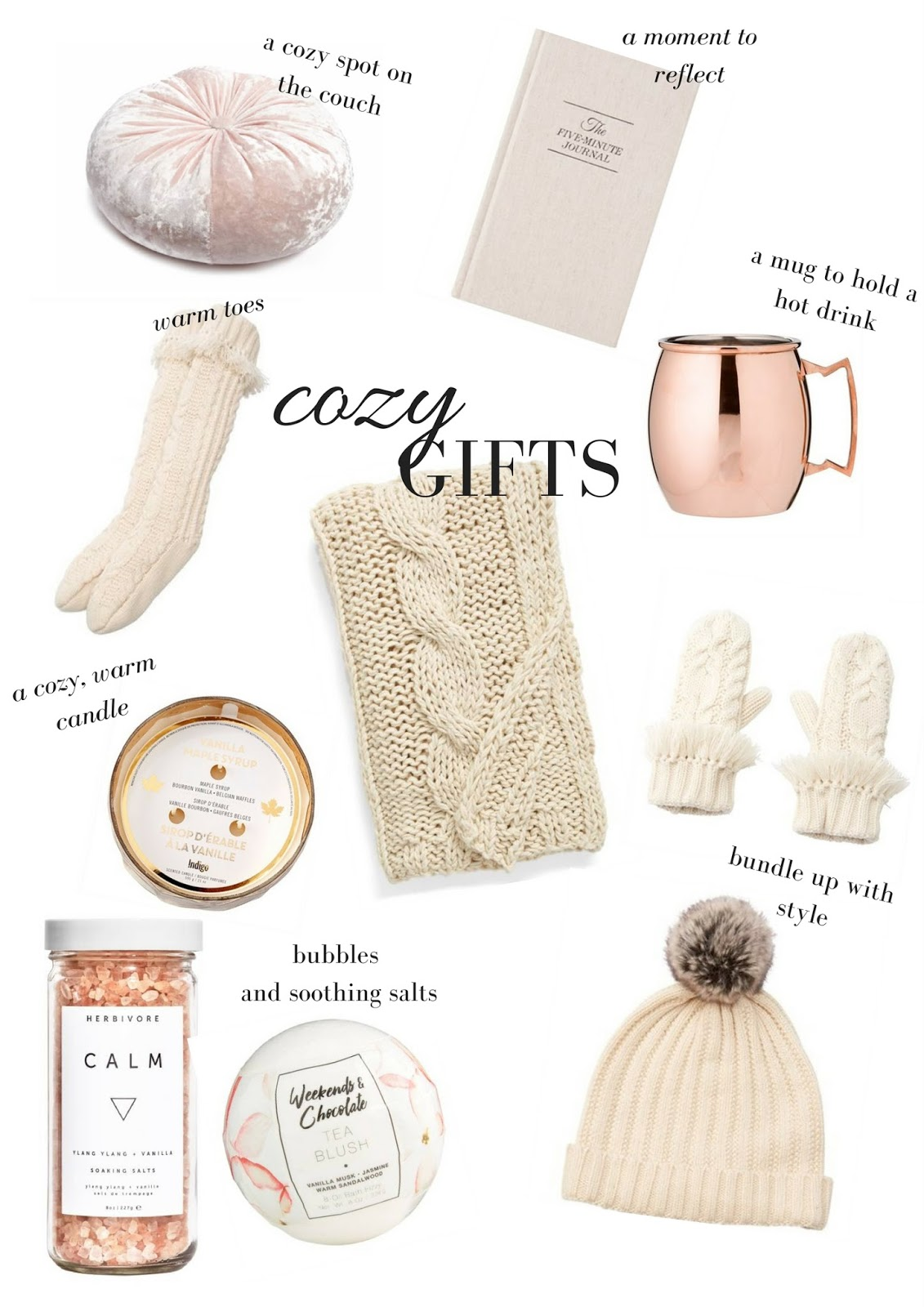 Bundled Up In Snow | Cozy Gifts for the Coziest Season | Gift Guide for the Homebody | labellesirene_