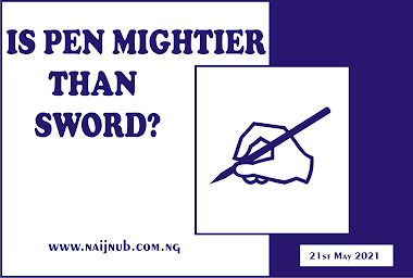 Is the Pen Mightier than the Sword?