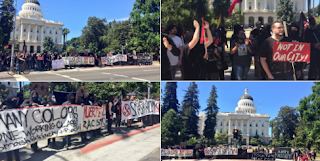 Violence Breaks Out At White Supremacist Rally in Sacramento, Multiple People Stabbed