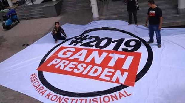 KPU-Bawaslu 'Izinkan' #2019GantiPresiden