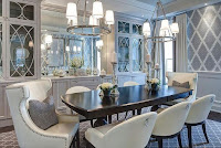 Pendant lights above dining table help your dining room looks elegant too