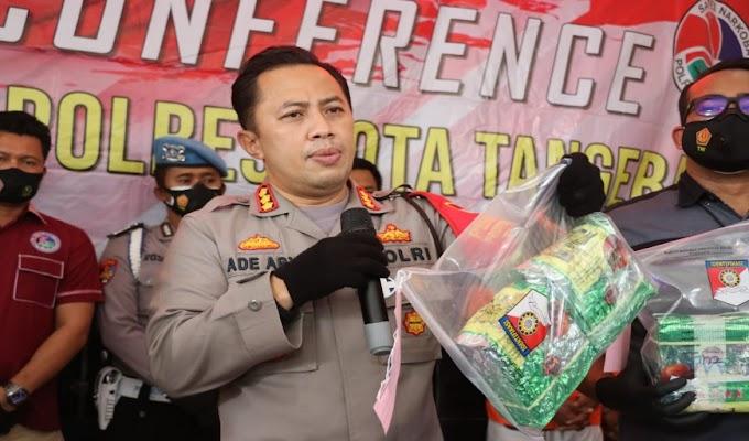 Polresta Tangerang Berhasil Ungkap Sindikat Pengedar Narkoba Jaringan Malaysia