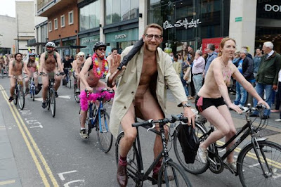 entertainment world naked bike ride announce