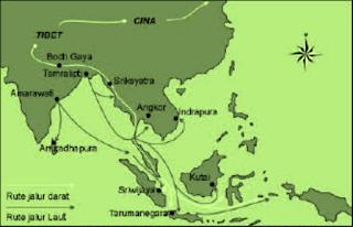 TEORI DAN JALUR MASUK AGAMA HINDU-BUDDHA KE INDONESIA