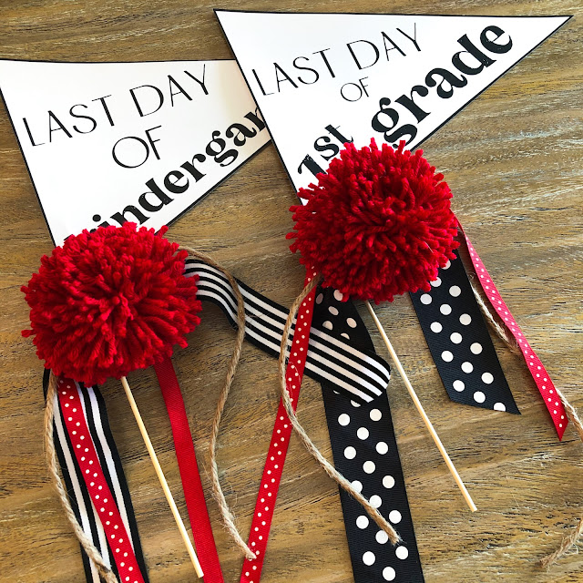 Looking for end of the year activities?!  This fun end of the year pack has all you need to finish the year with lots of fun!  End of the year pennant flags for last day photos, memory book, anchor chart pieces, student hats, a graduation craft, and more!  Click here to read more about it!