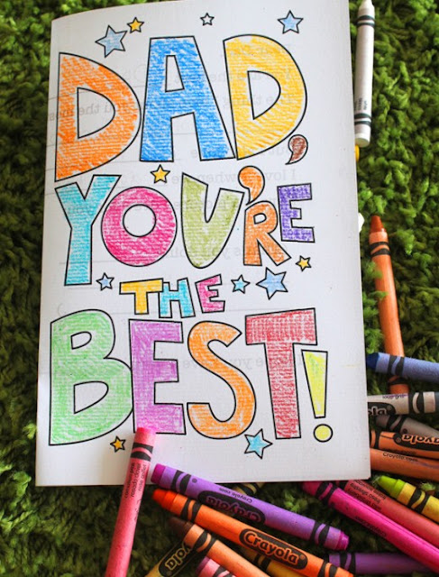 Happy Fathers Day Printable Cards, Banners, Posters, Pictures And Images