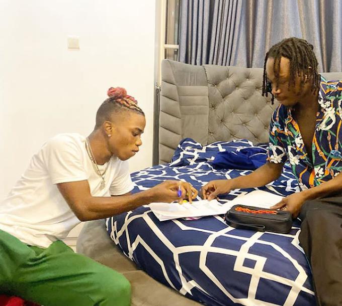 Naira Marley signs Lyta into Marlian Music